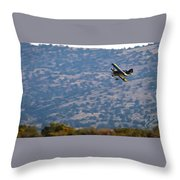 Rob Caster In Miss Diane, Friday Morning 16x9 Aspect Signature Edition Throw Pillow