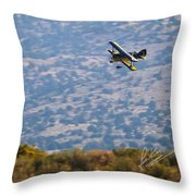 Rob Caster In Miss Diane, Friday Morning 5x7 Aspect Signature Edition Throw Pillow