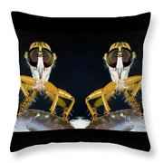 Robber Fly - Alien Visitors Throw Pillow