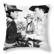 Robber's Roost 1 Throw Pillow