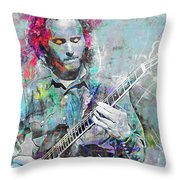 Robby Krieger Throw Pillow