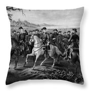 Robert E. Lee And His Generals Throw Pillow