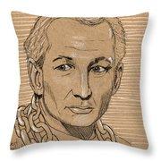 Robert Englund Throw Pillow