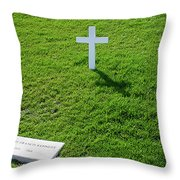 Robert F Kennedy Throw Pillow