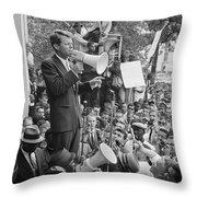 Robert F. Kennedy Throw Pillow