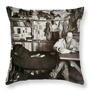 Robert Falcon Scott Throw Pillow