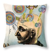 Robert Fludd, 1574-1637 Throw Pillow