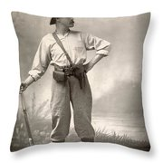 Robert Henry Nelson Throw Pillow