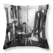 Robert Motherwell Throw Pillow