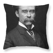 Robert Peary (1856-1920) Throw Pillow