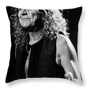 Robert Plant-0039 Throw Pillow