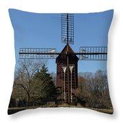 Robertsons Windmill Throw Pillow
