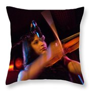 Robin Hoch The Wendy Woo Band Throw Pillow