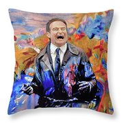 Robin Williams - What Dreams May Come Throw Pillow