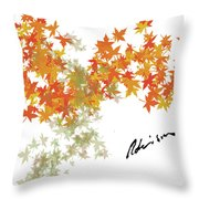 Robinson Camo Leaves Range Throw Pillow