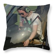 Robinson R22 Beta Throw Pillow