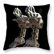 Robotic Limbs Throw Pillow