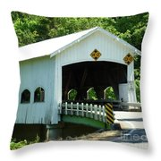 Rochester Bridge Throw Pillow