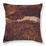 Rochester Creek Panel Throw Pillow