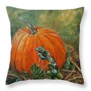 Rochester Pumpkin Throw Pillow