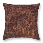 Rochester Rainbow Detail Throw Pillow