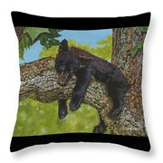 Rock-a-bye-baby/the Wild Bunch #2 Throw Pillow