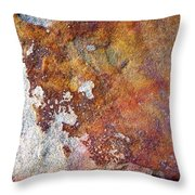 Rock Abstract 1 Throw Pillow