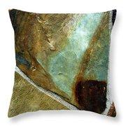 Rock Abstract 4 Throw Pillow