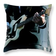 Rock And Roll 2 Throw Pillow