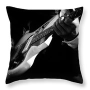 Rock And Roll 3 Throw Pillow