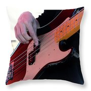 Rock And Roll 4 Throw Pillow