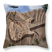 Rock And Roll Park 2 Throw Pillow