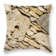 Rock Architecture Five Throw Pillow