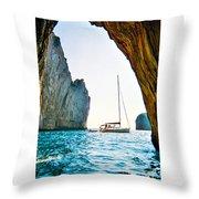 Rock Canopy 2 Throw Pillow