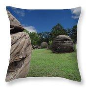 Rock City Throw Pillow