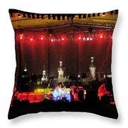 Rock Concert Throw Pillow