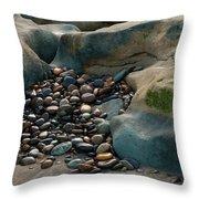 Rock Cradle Throw Pillow