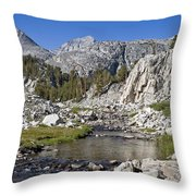 Rock Creek Hike Throw Pillow