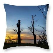 Rock Creek Silhouette Throw Pillow