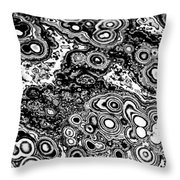 Rock Design Throw Pillow