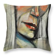 Rock Diva Or Pris Throw Pillow