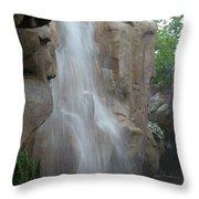 Rock Falls Throw Pillow