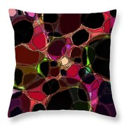 Rock Figment Throw Pillow
