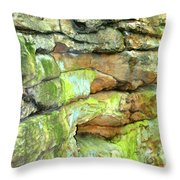 Rock Formation, Wv Throw Pillow