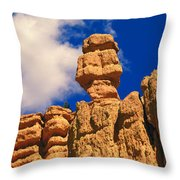 Rock Formations, Bryce National Park Throw Pillow