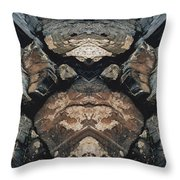 Rock Gods Rock Matron Throw Pillow
