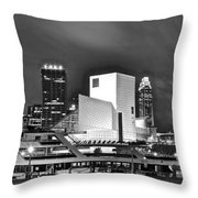 Rock Hall Front And Center  Throw Pillow