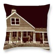 Rock Hall Waterman's Museum Throw Pillow