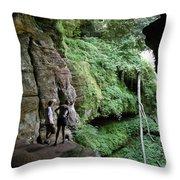 Rock House Overlook Throw Pillow