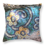 Rock In The Park Throw Pillow